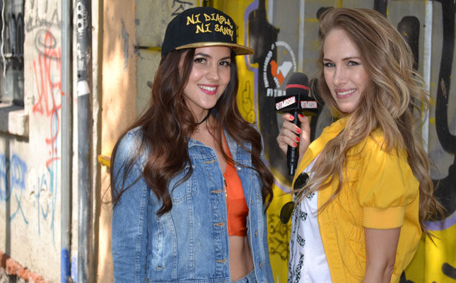 Sophy Mell en México en el programa Ritmosón con Erika Bruni